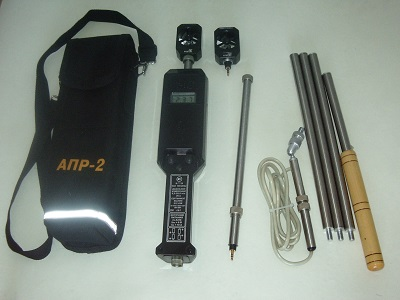 Комплектація анемометра АПР-2